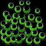 60 Pieces Sticky Eyeballs Glow in The Dark Eyeballs Toy Sticky Luminous Eyeballs for Halloween Party Favors