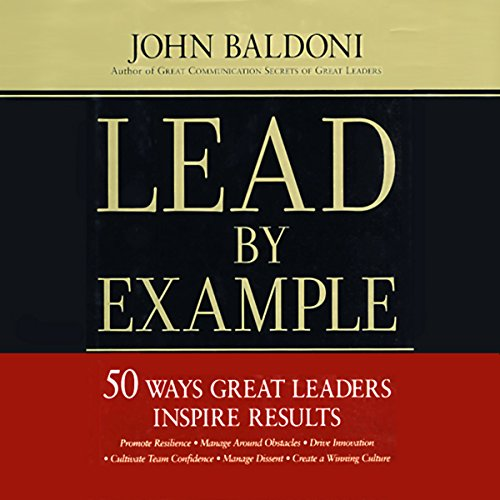 Lead by Example audiobook cover art