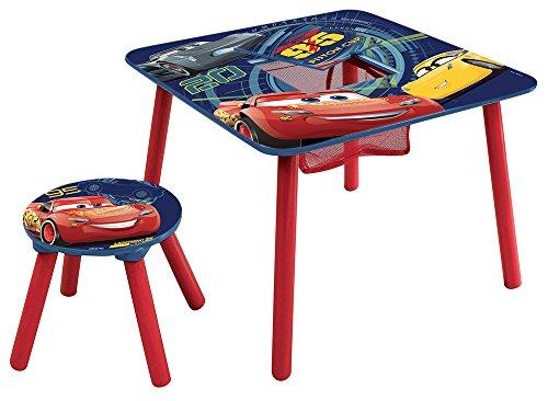 Fun House 712700 CARS Table de jeux avec un Tabouret pour enfant
