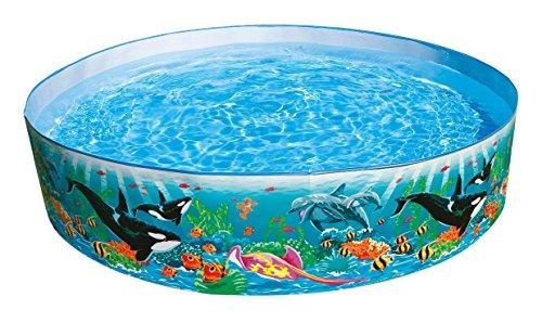 Intex Kinderpool Snap-Set-Pool Ocean Reef, Mehrfarbig, Ø 183 x 38 cm