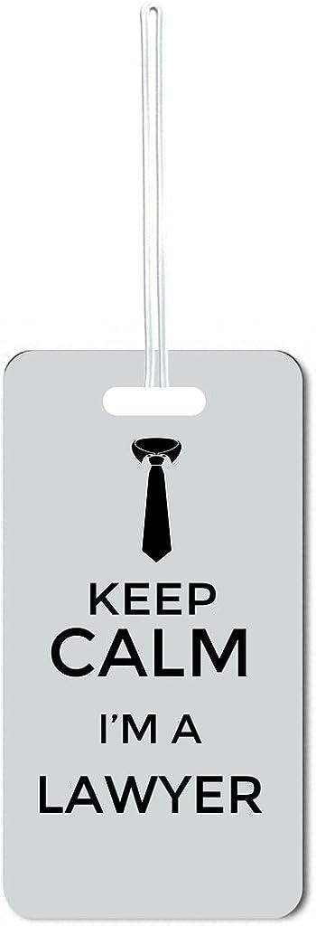 Keep Calm I'm a Lawyer-Grey Lea Elegant Elliot wit of Luggage Set Direct store Tags 5