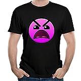 HAIZHENY Uomo Geometry Dash Cotton Maglietta/T-Shirt Tee Small