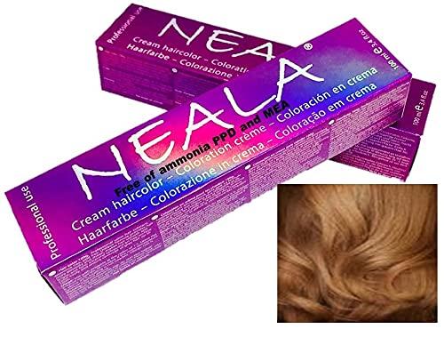 'Tinte permanente para el cabello libre de amonio y sin PPD de NEALA - 5.3 - CASTAÑO CLARO DORADO - NEALA 100ml.