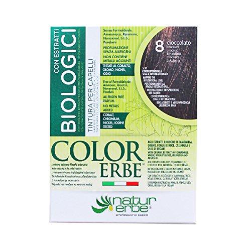 Naturerbe Color Erbe Estratti Bio Tintura 08 Cioccolato