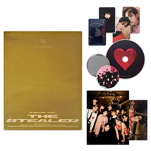 THE BOYZ 5th Mini Album - Chase [ CHASE ver. ] CD + Photo Book + Photo Cards + Post Card + FREE GIFT / K-pop Sealed