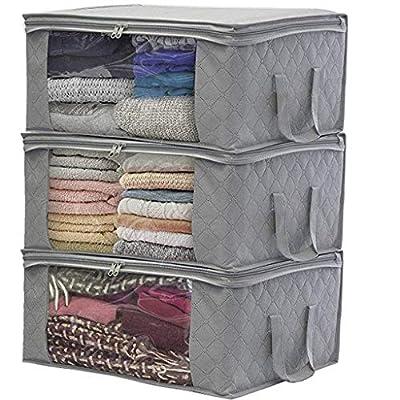 Home Closet Storage Bags Clothes Container Bag ...
