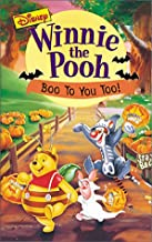 Winnie the Pooh - Boo to You Too VHS