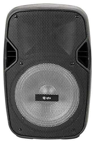 Price comparison product image QTX / PAL8 Portable Active PA / Bluetooth & Media Player,  Wireless Mic,  Bass & Volume,  In-built LED Lighting effect & Mains Power Not Needed