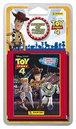 Toy Story 4. Blíster 40 estampas + 10 tarjetas.
