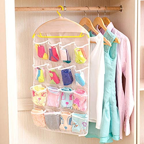 ZPTECH Drawer Organizers Storage online shop Bag 16 Home Clear Hangi Choice Pockets