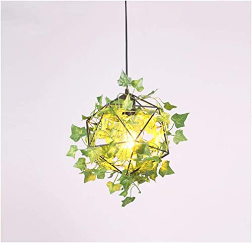 Y.H_Super Suspension Restaurant & Bar Décoration Lustre Café Creative Simple éclairage De Plafond vert Diamond Suspension Lampe (Couleur   B 25cm)