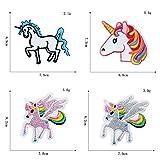 Zoom IMG-2 yeemeen toppe termoadesive unicorno arcobaleno