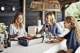 Enders® 1363 Aurora raucharmer Tischgrill, mobiler Holzkohle-Grill, kleiner Grill, rauchfreier Tischgrill, Balkon-Grill, Picknick-Grill, Camping-Grill, Grill mit Belüftung, taupe - 3