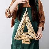Zoylink 30 STÜCKE Treibholz Stück DIY Handwerk Holz Basteln Kreative Aquarium Dekor Ornamente Natürliche Aquarium Holz Dekoration - 5