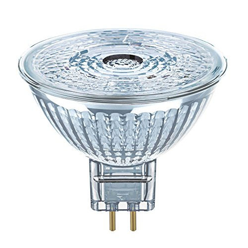 5 Pack of Osram 4.6w (35w Equivalent) Parathom MR16 GU5.3 LED 12v 36° Cool White 4000k Lamp - 4052899957787