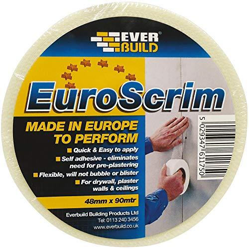 EVERBUILD EVB2EURO48 48 mm x Lunghezza 90 m Euroscrim Tape