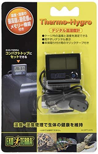 ジェックス デジタル温湿度計 PT2470