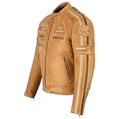 Herren – Motorradjacke aus Nappa Leder (L) - 2