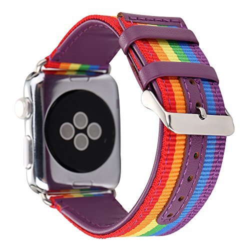 Guigong Apple Watch Leather Sport Band