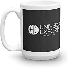 rangerpolocon James Bond - Universal Exports (London) Ltd 15Oz Ceramic Coffee Mugs Cup Tea Suitable For Hot And Cold Drinks