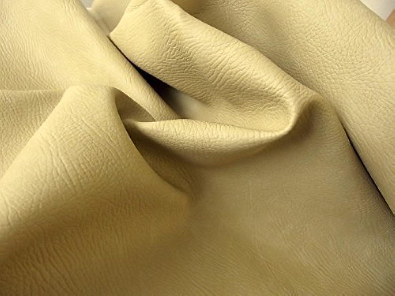 Matt FR PVC Leder Tuch Vinyl Mbelbezugsstoff Material - beige - Beige, 10Mtr - 1000cm x 140cm