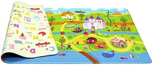 Playmat – dwinugler – Fairy Tale Land – Medium – 1,9 m * 1,3 m * 15 MM …