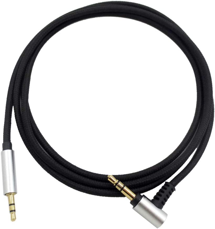 GLASSNOBLE Audio Cable,Audio Cable Headphone Cord Line for AKG Y45 y50 Y40 for QC25 OE2 2.5mm Headset Through