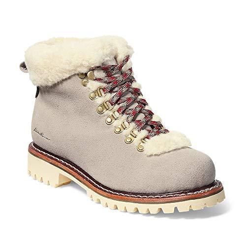 Eddie Bauer Women's K-6 Fur Boot, Stone Regular 7.5M
