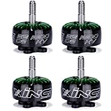 iFlight 4pcs XING 2208 1800KV Brushless Motor 6S for QAV FPV Racing Drone Quadcopter (unibell)