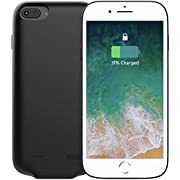 Vidgoo Rechargeable Charger Case 4000mah Portable Protective Battery Case Ultimately Slim Power Bank Compatible iPhone 6 6s 7 8(6.2 inch)