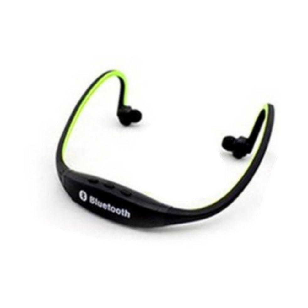 頑丈ハプニングあらゆる種類のXOYA ワイヤレス ヘッドホン MP3 プレーヤー 充電&データ転送用USBケーブル付属 ヘッドフォン一体型 microSDカード対応 MP3音楽再生機能付 充電式 イヤフォン コードレス ワイヤレス ミュージックプレーヤー ジョギング 緑