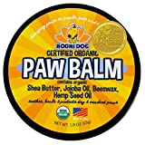 Organic Paw Balm for Dogs & Cats | All Natural Soothing & Healing for Dry Cracking Rough Pet Skin |...