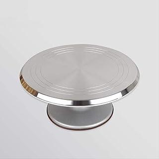 Base Giratoria Tartas 30cm De Aleación De Aluminio Cake Turntable Cake Rotating Decoración Stand Cake Rotating Decoration Display Stand