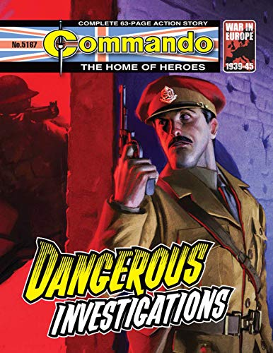 Commando #5167: Dangerous Investigations (English Edition)