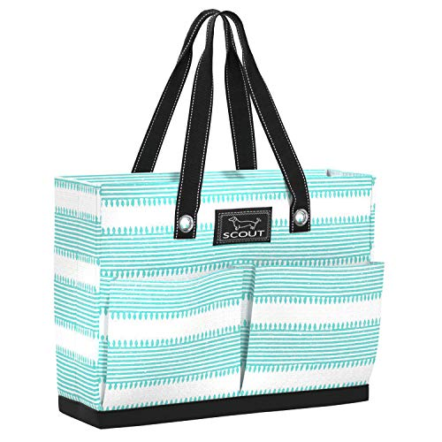 SCOUT Uptown Girl Tote Bag, Lightweight Utility Tote Bag with 4 Exterior Pockets in Simply Divine...