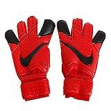 Nike GK Grip 3Gants de gardien de but pour le jeu de football Fire, Homme femme mixte, Red