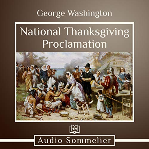 National Thanksgiving Proclamation audiobook cover art