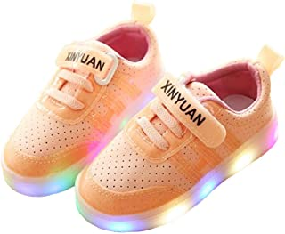 Unparalleled beauty LED Light up Shoes for Kids Unisex Children Flashing Sneakers Casual Shoes