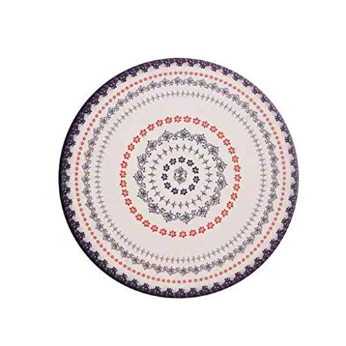 JIABAN Posavasos redondo de cerámica absorbente con barro de Diatom, ideal para bebidas