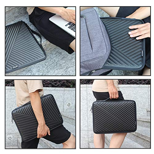 MCHENG Stoßfest Notebook Handtaschen 10.1 Zoll Laptop Sleeve Hülle Laptoptasche Schutzabdeckung Hülle Tasche für 9,7