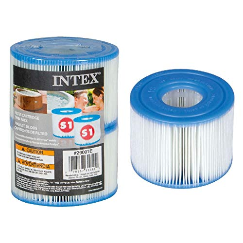 Intex 55000 - Pack de 2 cartuchos SPA tipo S1, altura de 7.5