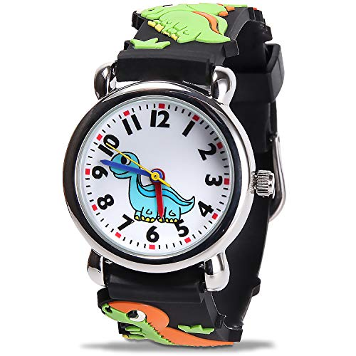 Kids Waterproof Watch, Cute 3D Cartoon Children's Watches with Easy-to-Read Numbers and Pointers, are The Best Gifts for Teaching Children Aged 3-12 How to distinguish time