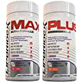 Liporidex MAX/PLUS Thermogenic Fat Burner & Appetite Suppressant Weight Loss Stack