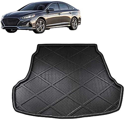 Coche Alfombrillas para maletero para Hyundai Sonata (LF) Sedan 2015 2016 2017 2018, Impermeable antideslizantes Protection Accesorios.