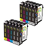 GLEGLE 29XL Compatible tinta cartuchos 10 Reemplazo para Epson Expression Home XP-255 XP-245 XP-247...