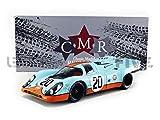 CMR- Coche en Miniatura de colección, CMR127, Azul y Naranja