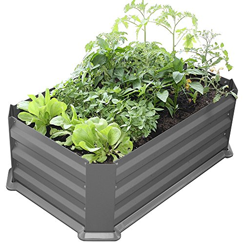 Bio Green Metallhochbeet mit Kunststoffboden