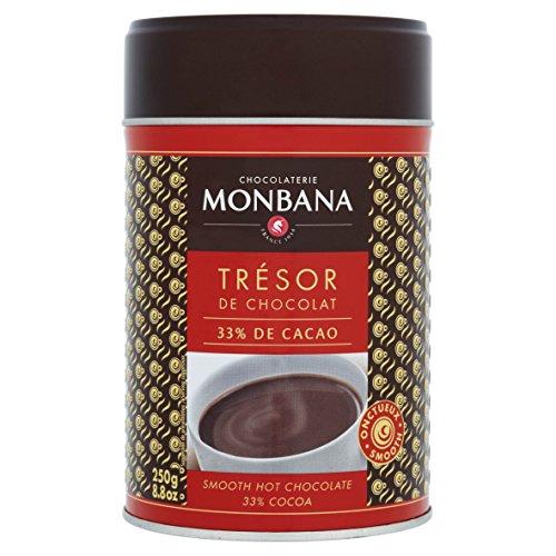 Monbana Trinkschokolade Tresor de Chocolat Dose 250 g