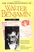 The Correspondence of Walter Benjamin 1910-1940