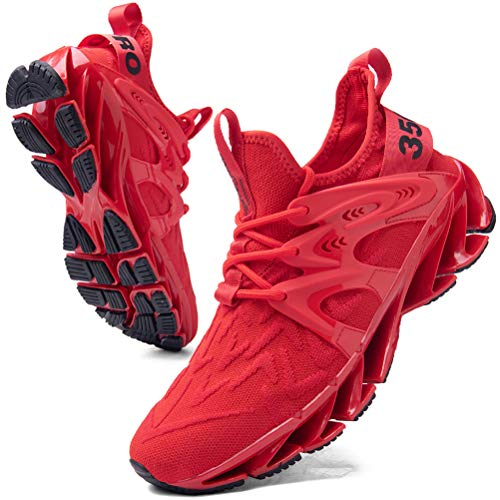 Uomo Scarpe da Ginnastica Moda Casual Sneakers Jogging Trekking Running